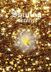 Shining screen