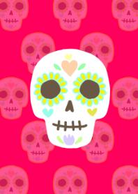 Mexico image skull