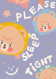 please sleep tight :-)