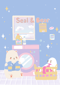 Seal and Bear: Laundry Day