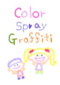 Color Spray Graffiti