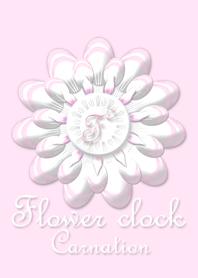 Flower clock ~Carnation~