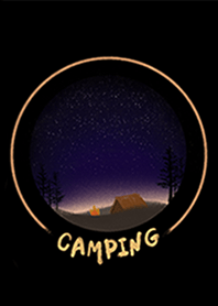 Camping under the sky