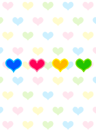 Colorful Heart theme