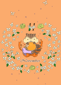 "Birthday color theme ""November"""