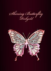 Shining Butterfliy Pinkgold