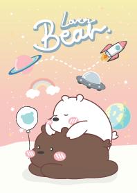 ลูกหมีกับกาแล็กซี่สีพาสเทล2