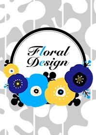 elPortale | Floral design ©shirakichi| elPortale | Sell LINE Sticker, Sell LINE Theme