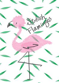 Stylish Flamingos