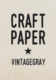 Craft Paper [Vintagegray]