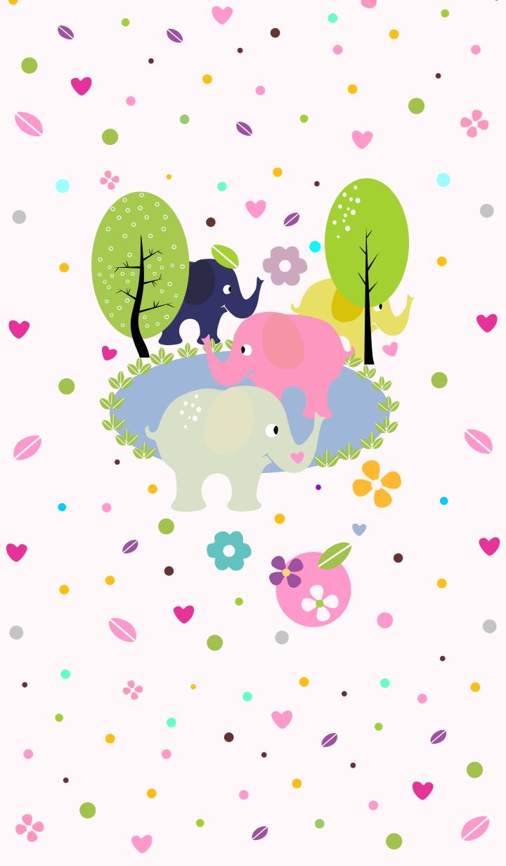 【主題】大象全顏色