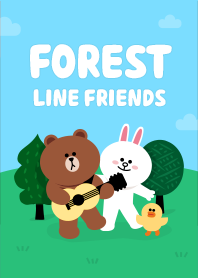 Free Download Line Theme | Forest Friends