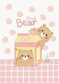 หมีแบร์มอนิ่งพีช
