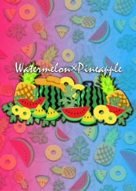 Watermelon & Pineapple