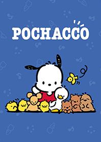 Pochacco น้ำเงินเข้ม&ชมพูเก๋