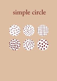 kawaii simple circle