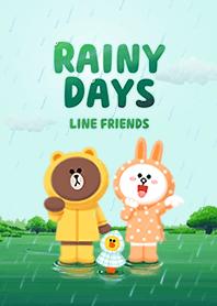 LINE สุขสันต์วันฝนตก