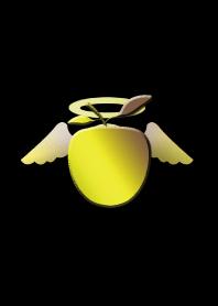 Apple with golden golden apple