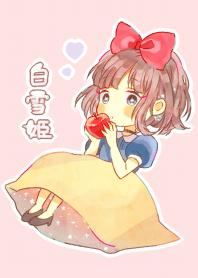 Fairy tale Snow White