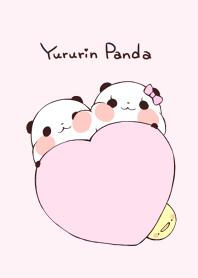 Yururin Panda Theme. pink ver.