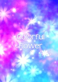 Colorful pop flower