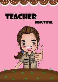 ธีมไลน์ Teacher Beautiful