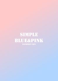 Simple Blue&Pink