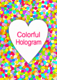 Colorful Hologram theme