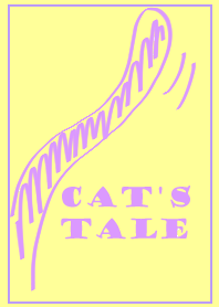 cat's tale (purple and yellow)