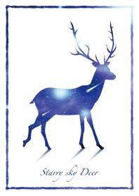 Starry sky Deer