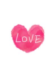 I'm in love heart 2 -watercolor-