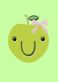 Green apple ribbon