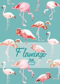 Cute Flamingo theme