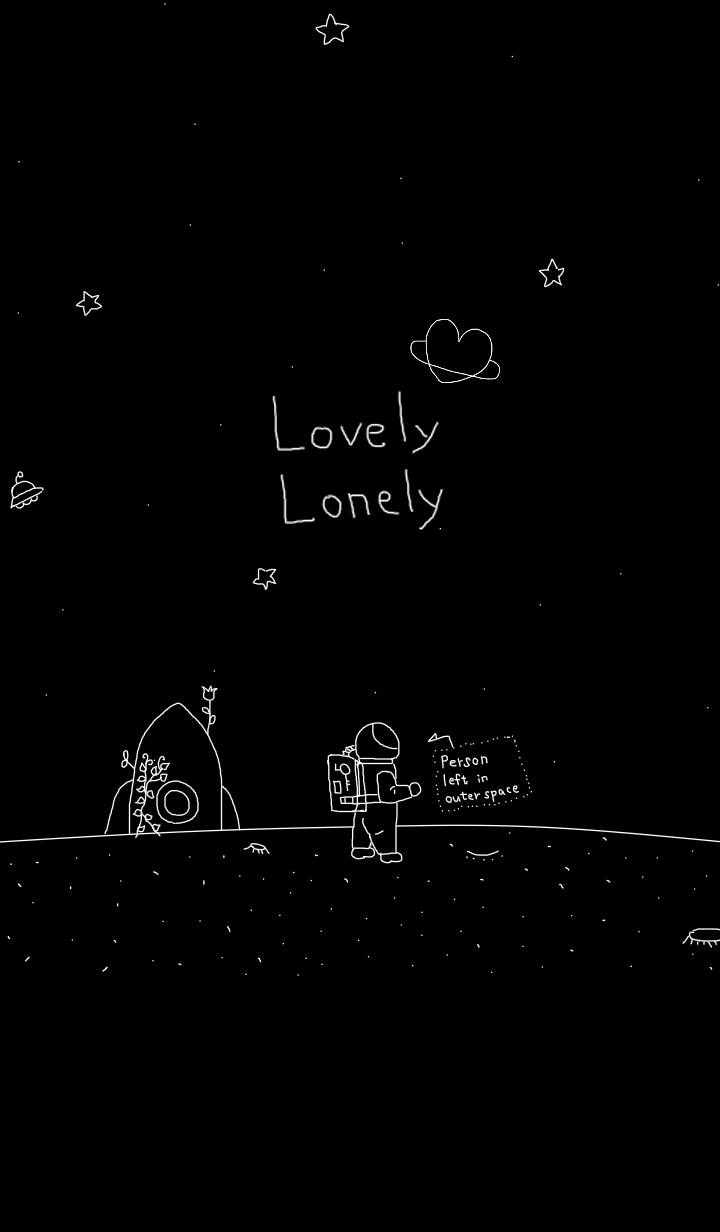 【主題】Lovely Lonely_Person left in outer space