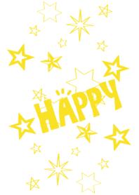 HAPPY STAR***yellow