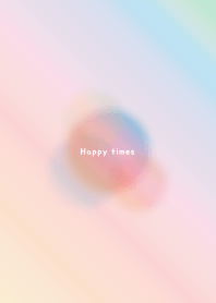 'Happy times' simple theme