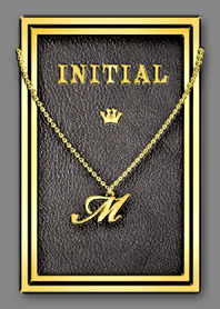 Initial M / Gold