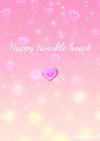 Happy twinkle heart