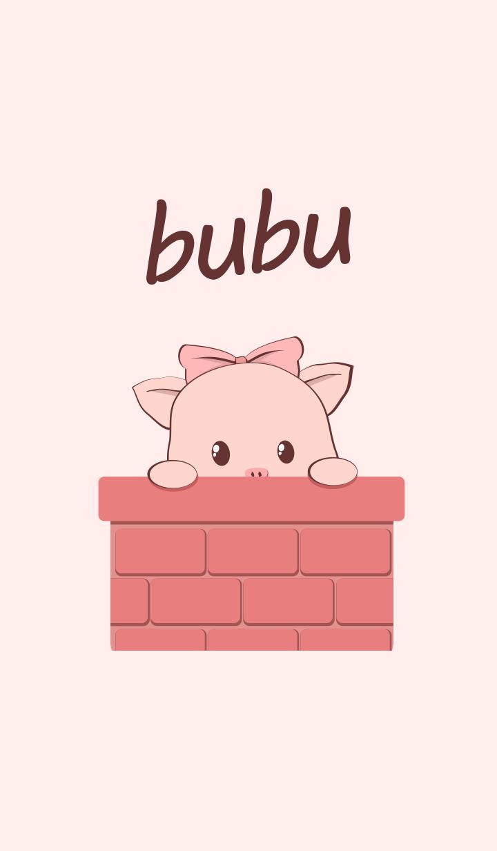 【主題】Cute pink bubu