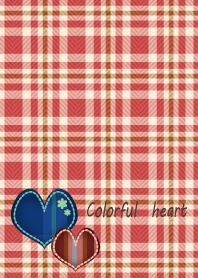 Colorful heart 8