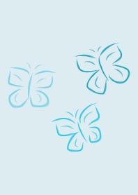 Pretty Butterfly Blue Summe...