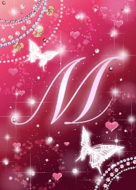 Jewel butterfly initialM