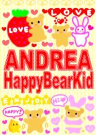 """""""ANDREA"""" Happy Bear Kid"""