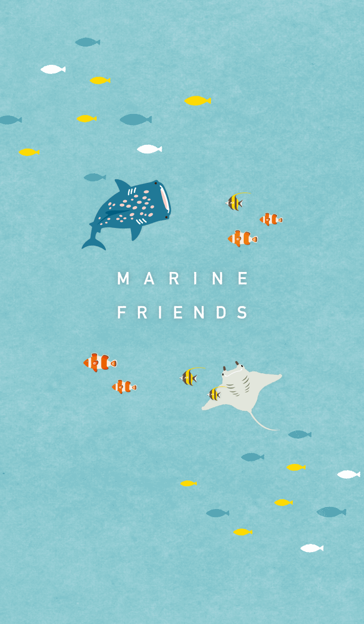【主題】Marine Friends