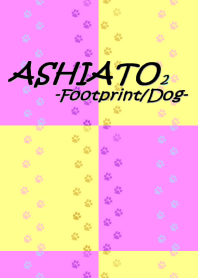 ASHIATO 2 -Dog-Yellow × Pink