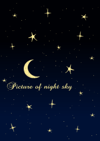 Picture of night sky