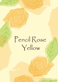 Pencil Rose Yellow