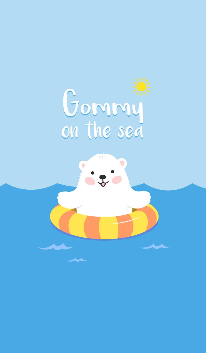 【主題】Gommy on the sea