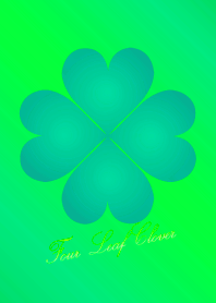New Four Leaf Clover Green 3