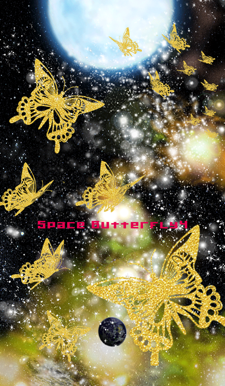 Space butterfly 4